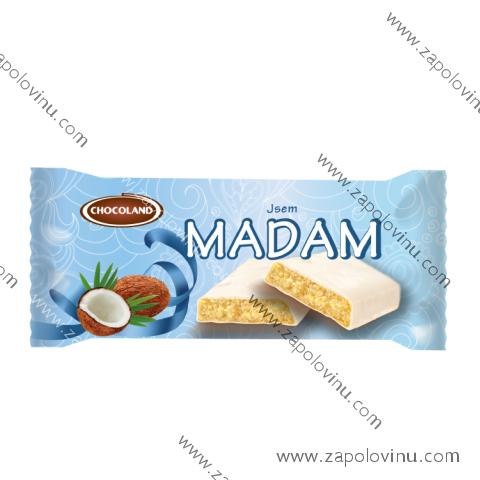 Chocoland Jsem Madam bílá 100 g