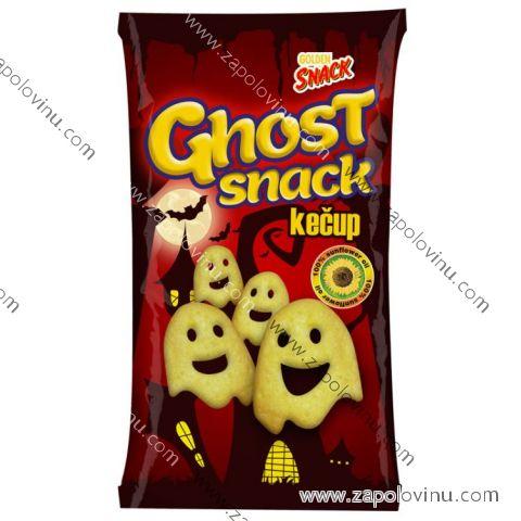 Golden Snack Ghost Snack s přichutí kečupu 70g