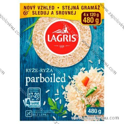Lagris Rýže parboiled 4 varné sáčky - 480g
