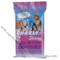 Ubrousky CHARLY pro domácí zvířata 20 ks
