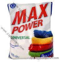 MAX POWER prací prášek univerzální 3 kg