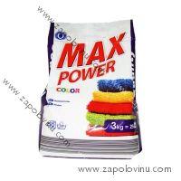 MAX POWER prací prášek color 3 kg