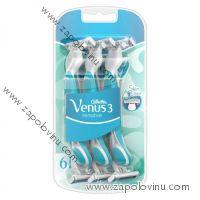 GILLETTE Venus3 Sensitive Pohotovostní holítka pro ženy 6 ks