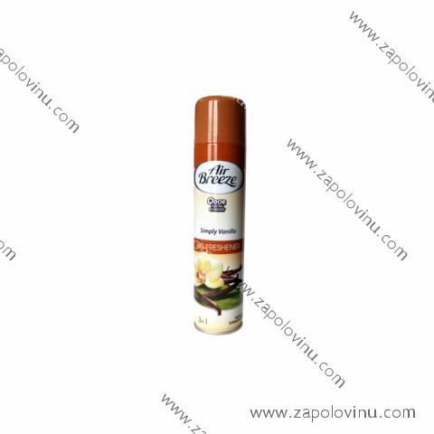 AIR BREEZE Osvěžovač vzduchu Simply Vanilla 300 ml