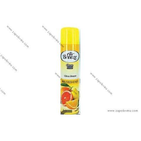 AIR BREEZE Osvěžovač vzduchu Citrus 300 ml