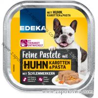 EDEKA paštika pro psy s kuřecím masem, mrkví a těstovinami 300 g