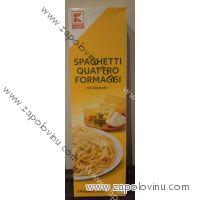 K Classic Spaghetti Quattro Formaggi 2 porce 315g