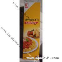 K Classic Špageti v rajské omáčce a se sýrem 2 porce 397g