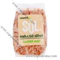 Country Life Sůl himalájská růžová hrubá 500 g