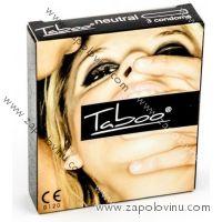 Taboo kondomy 3 ks Neutral