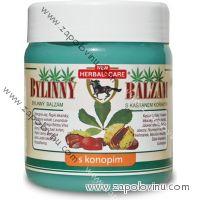 Herbal Care bylinný balzám s kaštanem koňským s konopím 500 ml