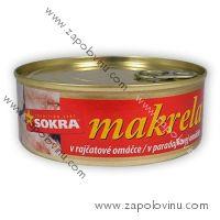 Sokra Makrela v rajčatové omáčce 240g