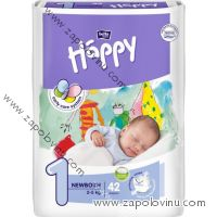 Bella Happy 1 Newborn 2-5 kg 42 ks