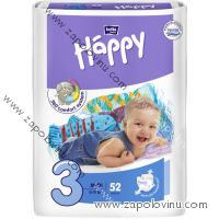 Bella Happy 3 Midi 5-9 kg 52 ks