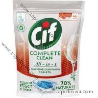 Cif All in 1 Regular Tablety do myčky nádobí 46 ks