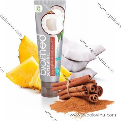 Biomed superwhite zubní pasta s přírodním kokosovým olejem 100 g