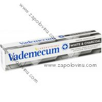 Vademecum Zubní pasta White+Charcoal 75 ml