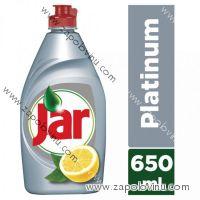 Jar Platinum prostředek na mytí nádobí Lemon + Lime 650 ml