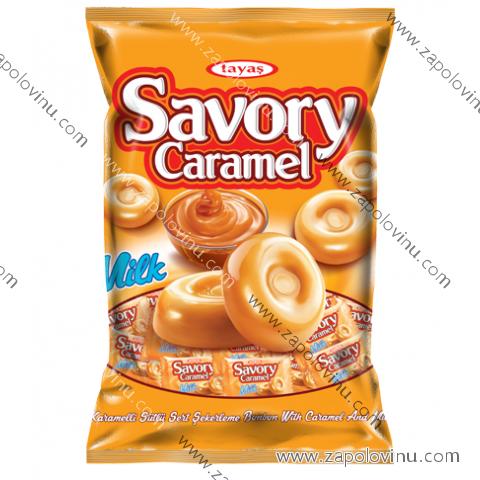 tayas savory tvrdé bonbony caramel 90g