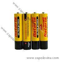 Bateria Slaný Baterie Ultra Prima AAA 4 ks