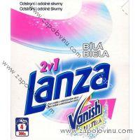 Lanza 2v1 Bílá prací prášek na bílé prádlo s Vanish Ultra 4 dávky 300 g