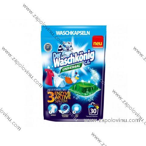 Waschkönig Universal 3v1 prací kapsle 30 ks