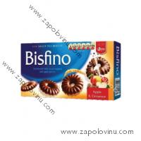 Leona Bisfino čokoládové věnešky s jablky a skořicí 170g