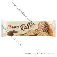 Balconi Roláda s příchutí cappuccina a polevou 300g