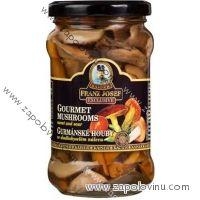Franz Josef Kaiser Gourmet houby ve sladkokyselém nálevu 314ml