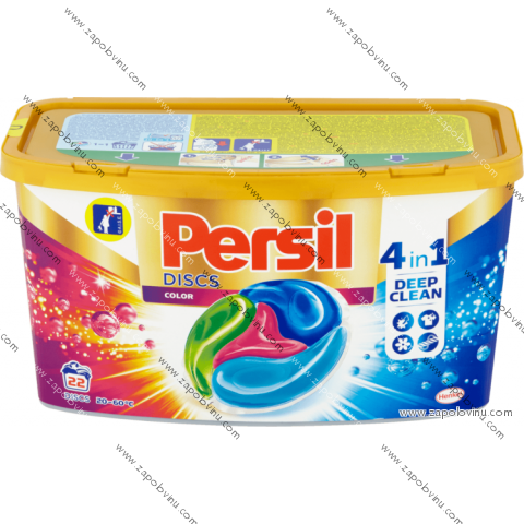 Persil Discs Color Box prací kapsle 22 ks
