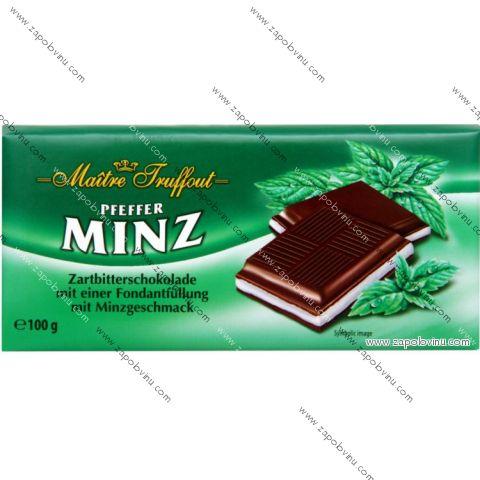 Maitre Truffout čokoláda Pfeffer Minz 100g