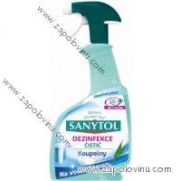 Sanytol sprej koupelny proti vodnímu kameni 500 ml