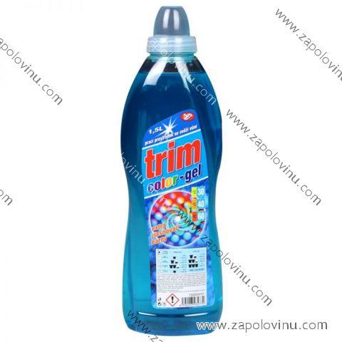 Trim Color tekutý gel prací prostředek na barevné prádlo 1,5 l