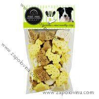 FINE DOG Zvířátka MIX s vůní vanilky 150g