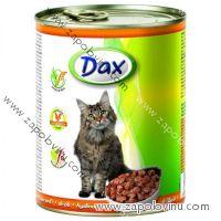 Dax Cat drůbeží kousky 830 g