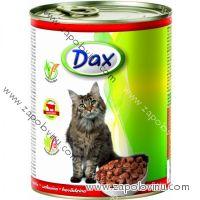 Dax kousky Cat hovězí 830 g