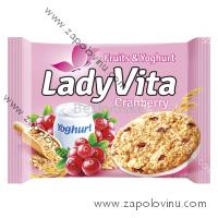 LadyVita jogurt + brusinky 49g