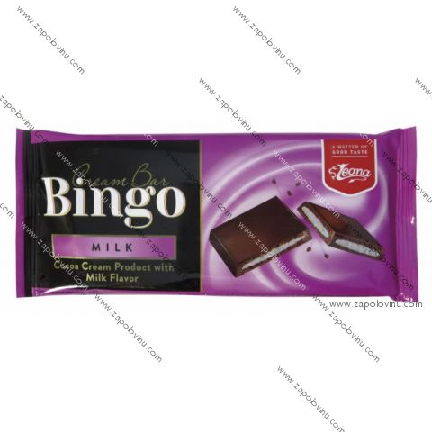 Leona Bingo mléčná čokoláda 90g