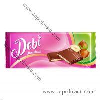 Debí mléčná čokoláda s náplní lískooříškovou 90g