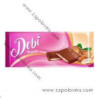 Debí mléčná čokoláda s náplní arašídovou 90g