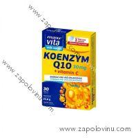 Vitar Maxivita Koenzym Q10 30 mg + Vitamín C 30 tablet