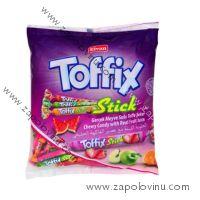 Elvan Toffix Stick měkké bonbóny ve tvaru tyčinek 800g