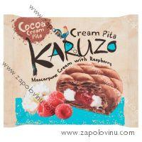 The Bakers Karuzo Kakaová pita z listového těsta s mascarpone a malinovou náplní 62 g