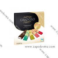 Truffout Grazioso Selection Creamy výběr plněných čokoládových tyčinek s ovocnými náplněmi 200g