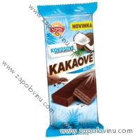 Sedita Kakaové řezy Kokosové celomáčené 45g