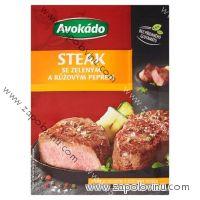 Avokádo Steak se zeleným a růžovým pepřem 20g
