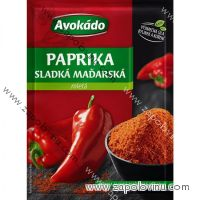 Avokádo Paprika mletá sladká maďarská 25g