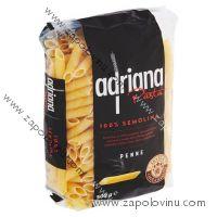 Adriana těstoviny semolinové penne 500g