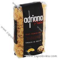 Adriana Pasta Creste Di Gallo těstoviny semolinové sušené 500g