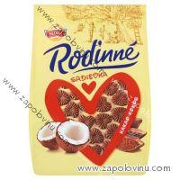 Sedita Rodinné Srdíčka kokosovo-kakaové 170g